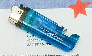 Cigarette Lighter Sent in Marketing Letter