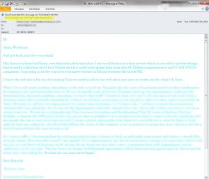 Turquoise Email