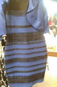Dress whose color people cannot agree on